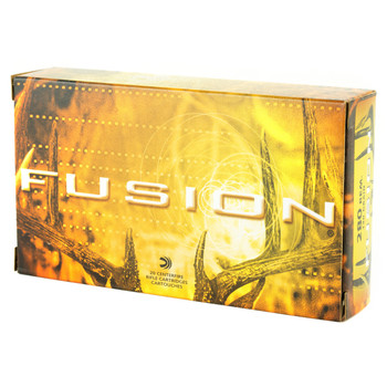 Federal Fusion, 280REM, 140 Grain, Boat Tail, 20 Round Box F280FS1, UPC : 029465098605