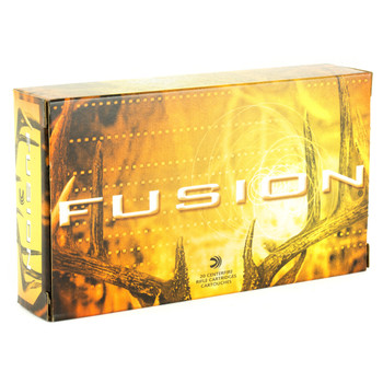 Federal Fusion, 280REM, 140 Grain, Boat Tail, 20 Round Box F280FS1, UPC : 029465098605