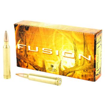 Federal Fusion, 300 WIN MAG, 180 Grain, Boat Tail, 20 Round Box F300WFS3, UPC : 029465098025