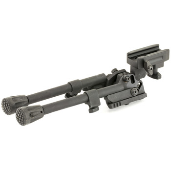 GG&G, Inc. Tactical Bipod, Fits Picatinny, Bipod Head Pans 20 Degree Left and Right of Center, Cants 25 DegreeLeft and Right of Center, 45 Degree Leg Locks, Black GGG-1527, UPC :813157003905