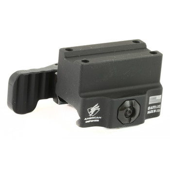 American Defense Mfg. Mount, Fits Trijicon MRO, Co-Wtiness, Tactical, Quick Release, Black Finish AD-MRO-10 TAC R, UPC :818503019715