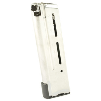 Wilson Combat Elite Tactical Magazine, 9MM, 10Rd, Fits 1911 Compact, Stainless 500.9CD, UPC :874218006235