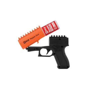 Mace Security International Pepper Gun, Pepper Spray, 13 oz, Black Finish 80406, UPC : 022188804065