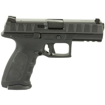 "Beretta APX, Semi-Automatic, Striker Fired, Full Size, 40 S&W, 4.25"" Barrel, Polymer Frame, Blue Finish, 2 Magazines, 15 Rounds JAXF421, UPC : 082442874265"