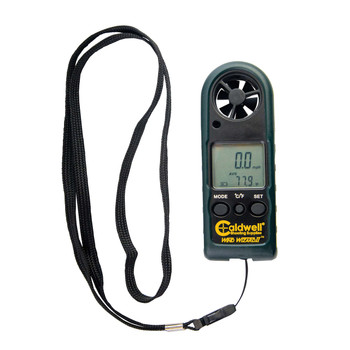 Caldwell Wind Wizard II, Measures Wind Speed/Temperature, LCD Backlight, Black 102579, UPC :661120025795