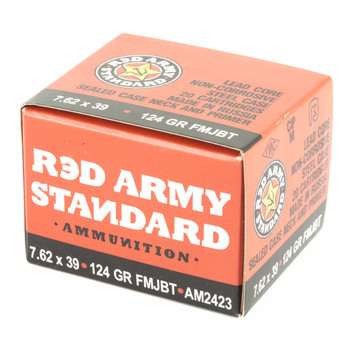 Century Arms Red Army Standard, 762X39, 124Gr, Full Metal Jacket, 20 Round Box AM2423, UPC :787450431775