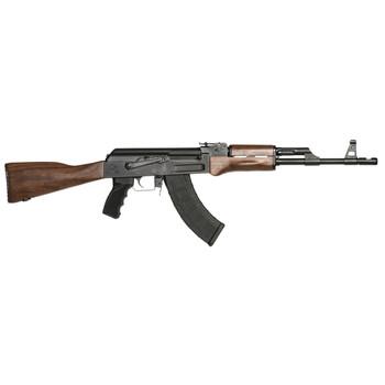 "Century Arms C39v2, Semi-automatic Rifle, 7.62X39, 16.5"" Barrel, Walnut Stock, Milled Receiver, Side Scope Mount Rail, 30Rd, 1 Magazine RI2398-N, UPC :787450381285"