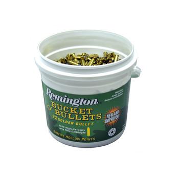 Remington High Velocity, 22LR, 36 Grain, Hollow Point, 1400 Round Buckets 21231, UPC : 047700415215