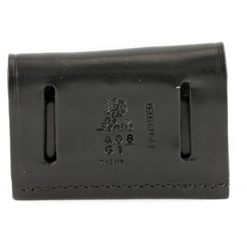 Desantis Cartridge Pouch 2X2X2, Holds 38/357 Cal, Black Leather A08BJG1Z0, UPC :792695215875
