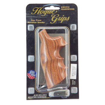 Hogue Grips Grip, S&W K/L Square Butt, Pau Ferro Wood 10300, UPC :743108103005