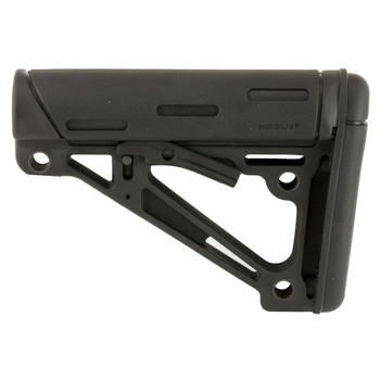 Hogue Grips AR-15 6-Position Stock, Fits Mil-Spec Buffer Tube Only, Black Finish 15040, UPC :743108150405