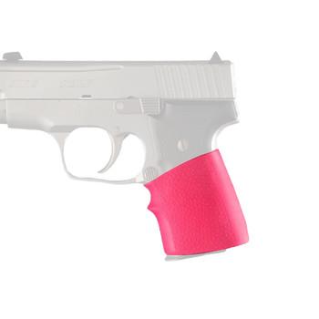 Hogue Grips HandAll Universal Grip, Junior, Fits Many Semi Auto Handguns, Pink 18007, UPC :743108180075