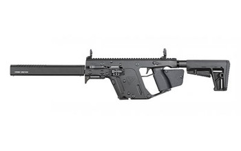 "KRISS USA, Inc VECTOR CRB, Gen II, Semi-automatic Rifle, 9MM, 16"" Barrel, Black Finish, DEFIANCE KRISS Stock, Back-Up Front & Rear Sight, Threaded, 1-10Rd Magazine KV90-CBL22, UPC :810237023105"