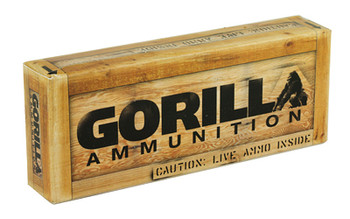 Gorilla Ammunition Company LLC 300 AAC Blackout, 125 Grain, Boat Tail Hollow Point, Sierra MatchKing, 20 Round Box GA300125SMK, UPC :858934003105