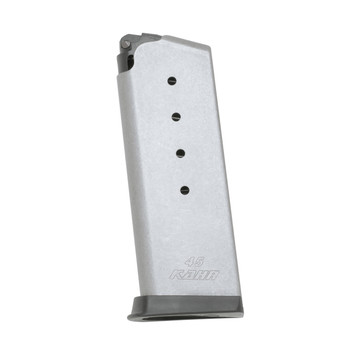 Kahr Arms Magazine, 45ACP, 5Rd, Fits PM45, Stainless Finish K525, UPC :602686128025