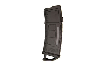 Magpul Industries PMAG 30 AUS M3 Magazine, 223 Rem/556NATO, 30Rd, Fits Steyr Aug Rifles, with Window, Black Finish MAG575-BLK, UPC :873750001265