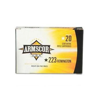 Armscor 223 Rem, 55 Grain, V-Max, 20 Round Box AC223-5N, UPC :812285021935