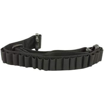 Bulldog Cases Adjustable Cartridge Belt for Shotgun Shells, Black WABS, UPC :875591000025