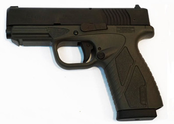"""Bersa Conceal Carry, Double Action Only, Compact, 9MM, 3.2"""" Barrel, Matte/Urban Grey Finish, Polymer Frame, Adjustable Sights, 8Rd, 1 Magazine BP9GRCC, UPC : 091664910965"""