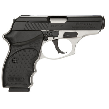 """Bersa Concealed Carry Thunder, Double Action, Compact, 380ACP, 3.5"""" Barrel, Alloy Frame, DuoTone Finish, Polymer Grips, Fixed Sights, 8Rd, 1 Magazine T380DTCC, UPC : 091664903745"""