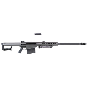 """Barrett 82A1, Semi-automatic, 50BMG, 29"""" Fluted Barrel, Black Finish, Synthetic Stock, 10Rd, Carry Case, 1 Magazine, Monopod Included 13316, UPC :816715010025"""