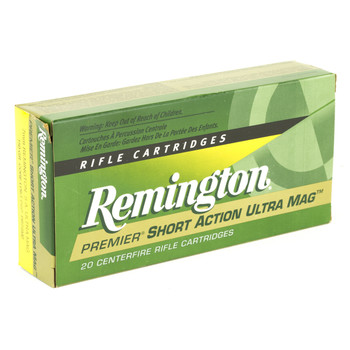 Remington Core Lokt, 7MM Short Action Ultra Mag, 150 Grain, Pointed Soft Point, 20 Round Box 27874, UPC : 047700357805