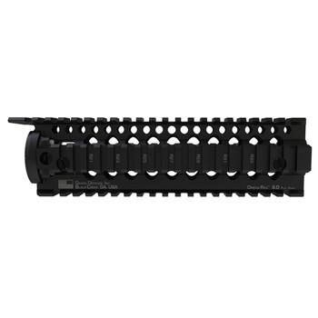 "Daniel Defense Omega Rail, 9.0"", Fits Mid-Length Length, AR Rifles, 2 Piece Drop-In Free Float Rail System, Black 01-005-10002, UPC :852548002035"
