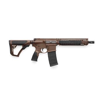 "Daniel Defense MK18, Semi-automatic Rifle, 223 Rem/556NATO, 10.3"" Cold Hammer Forged Chrome Lined Barrel, 1:7 Twist, Mil Spec+ Brown Cerakote Finish, Daniel Defense Stock/Grip, 32Rd, Daniel Defense RIS II Handguard, 1-32Rd Daniel Defense Magazine 02-"