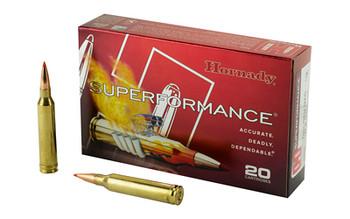 Hornady Superformance, 7MM Rem, 139 Grain, GMX, Lead Free, 20 Round Box 80592, UPC : 090255805925