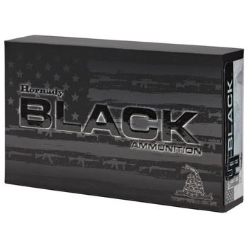 Hornady BLACK, 300 AAC Blackout, 110 Grain, V-Max, 20 Round Box 80873, UPC : 090255808735