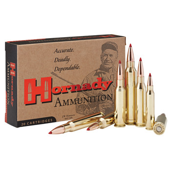Hornady Match, 308 Win, 155 Grain, ELD Match, 20 Round Box 80956, UPC : 090255809565