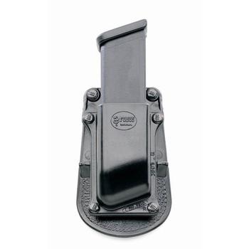 Fobus Paddle Magazine Pouch, Fits Single Magazine Glock/HK, Kydex, Black 3901G, UPC :676315000075