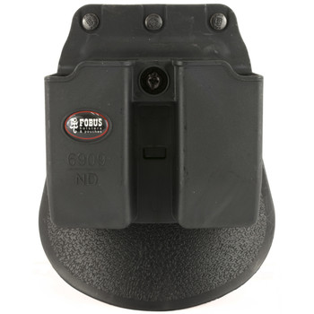 Fobus Paddle Magazine Pouch, Roto Paddle, Pouch, Black, Fits Double Mag Sig/Ber/Brn, Kydex 6909NDRP, UPC :676315033325