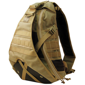 "Maxpedition Gearslinger Monsoon Backpack, 18""X15""X6"", Khaki 0410K, UPC :846909001515"