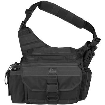 "Maxpedition Mongo Versipack, Bag, 12""X4""X9.5"", Black 0439B, UPC :846909007975"