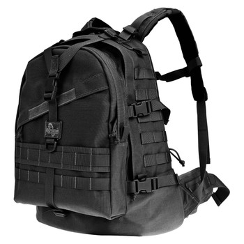 "Maxpedition Vulture II Backpack, 20.5""x16""x7.5"", Black 0514B, UPC :846909001645"