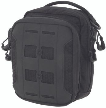 "Maxpedition Accordion Utility Pouch, 6.5""x3""x7.5"", Black AUPBLK, UPC :846909020615"