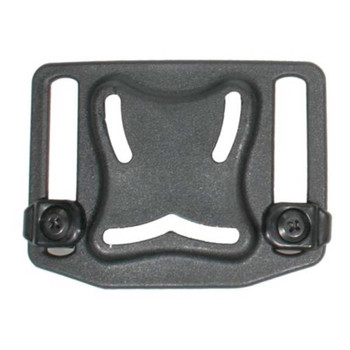 BLACKHAWK! BlackHawk, SERPA Belt Loop Platform, with Screws, for Concealment Holster Use Only, Black 410901BK, UPC :648018053375