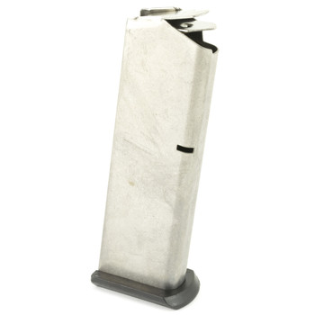 Ruger Magazine, 45 ACP, 8Rd, Stainless, Fits Ruger P90 90001, UPC :736676900015