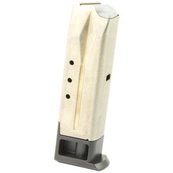 Ruger Magazine, 9MM, 10Rd, Stainless, Fits Ruger P95 90098, UPC :736676900985