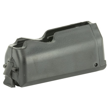 Ruger Magazine, .243Win,.308Win & 7mm-08, 4Rd, Black, Fits Ruger American Short Action 90436, UPC :736676904365