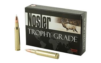 Nosler Rifle, 270WIN, 130 Grain, AccuBond, 20 Round Box 60025, UPC : 054041600255