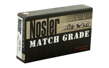 Nosler Rifle, 308WIN, 165 Grain, Custom Competition, 20 Round Box 60054, UPC : 054041600545