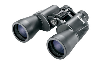 Bushnell Powerview Binocular, 10X50mm, InstaFocus, Porro Prism, Black Finish 131056, UPC : 029757165015