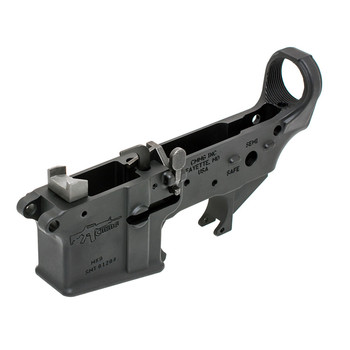 CMMG MK9 Lower, SMG, Semi-automatic, 9MM, Black Finish, Includes Feed Ramps, Ejector, and Extended Bolt Catch 90CA2F3, UPC :815835017235