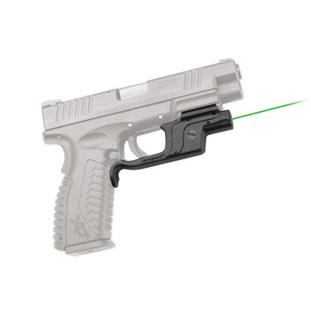 Crimson Trace Corporation Green LaserGaurd, Fits Springfield XD/XDM Full Size, Black LG-453, UPC :610242004225