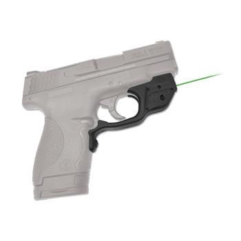 Crimson Trace Corporation Green Lasergaurd, Fits S&W Shield, User Installed, Black Finish LG-489G, UPC :610242005635