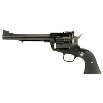 """Ruger Blackhawk, Single-Action Revolver, 41 Rem Mag, 6.5"""" Barrel, Blued Finish, Alloy Steel, Black Checkered Hard Rubber Grips, Adjustable Rear & Ramp Front Sight, 6Rd 00406, UPC :736676004065"""