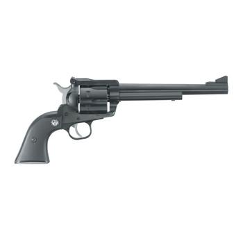 "Ruger Blackhawk, Single-Action Revolver, 30 Carb, 7.5"" Barrel, Blued Finish, Alloy Steel, Black Checkered Hard Rubber Grips, Adjustable Rear & Ramp Front Sight, 6Rd 00505, UPC :736676005055"