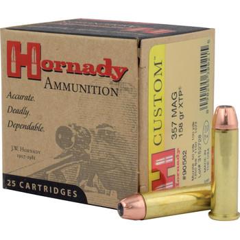 Hornady Self Defense, 357MAG, 158 Grain, XTP, 25 Round Box 90562, UPC : 090255300215